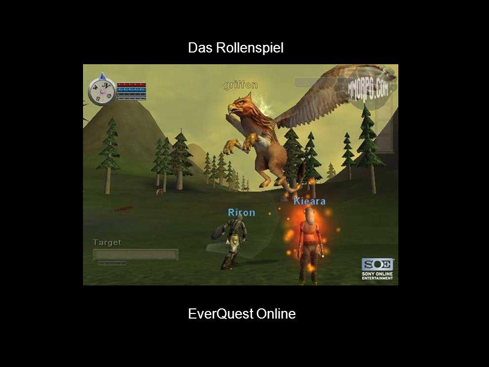 Das Rollenspiel EverQuest Online