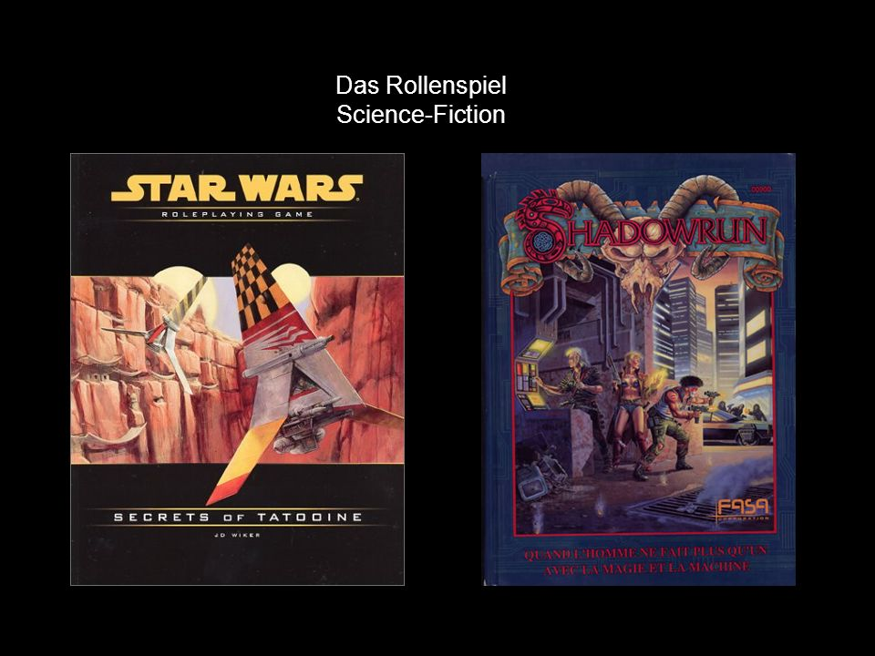 Das Rollenspiel Science-Fiction