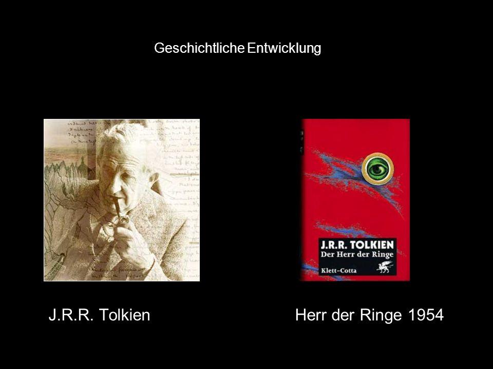 J.R.R. TolkienHerr der Ringe 1954 Geschichtliche Entwicklung