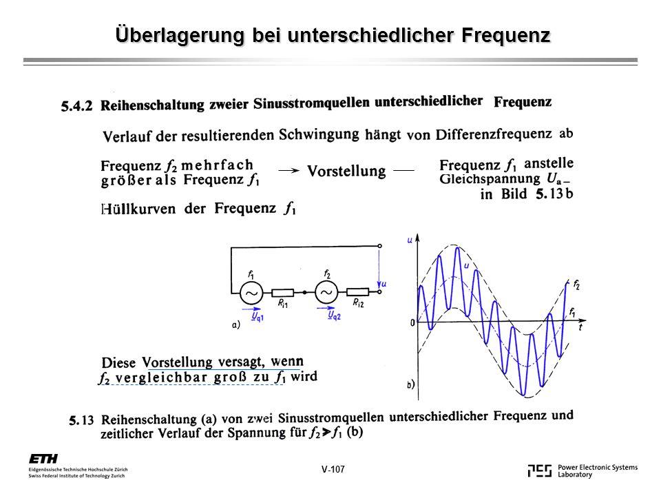 Spannungsübersetzung V-118 ~