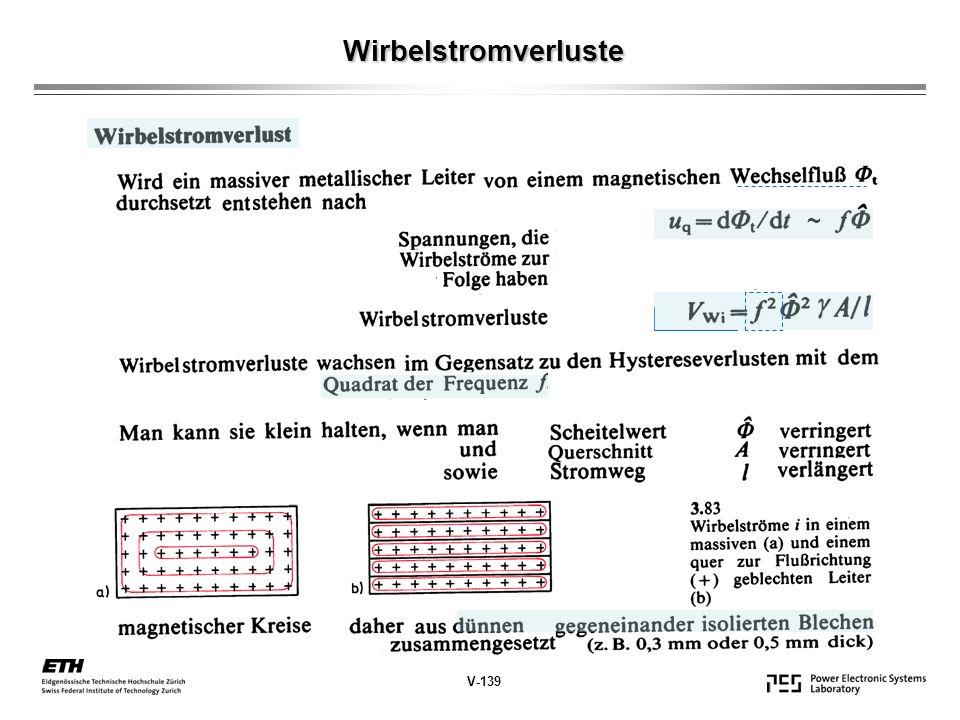 ~ Wirbelstromverluste V-139