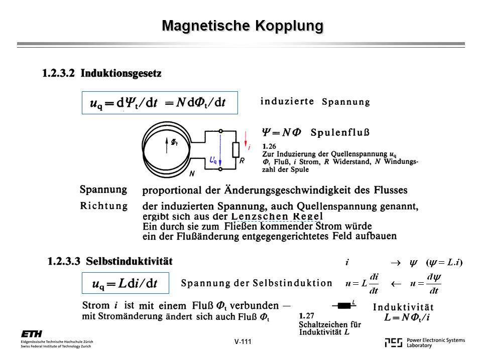 Ersatzschaltbild des Kondensators V-151