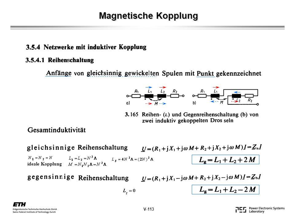 Magnetische Kopplung V-114