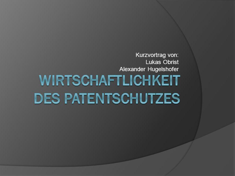 Ziel des Vortrags Überblick über die Kosten im Patentwesen Schweiz Welt-/Europaweit Patentanwalt Rentabilität des Patents Beispiel Einflüsse auf die Wirtschaftlichkeit