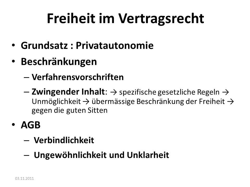 03.11.2011 2.Erfüllung: Relevante Punkte Performance : Main Issues Person des Erfüllenden .