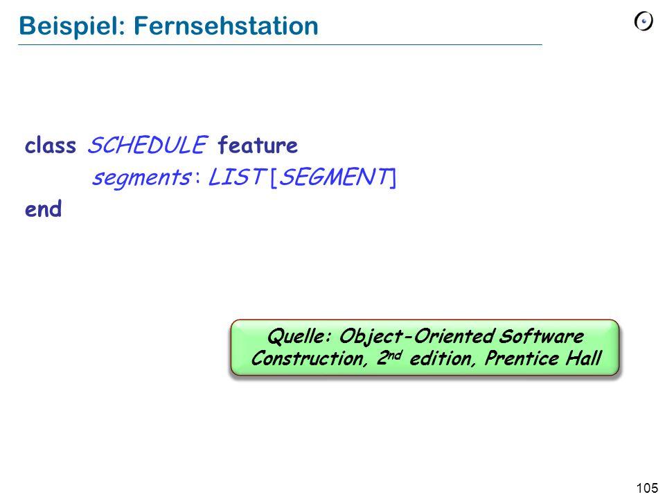 104 Anwendungen von aufgeschobenen Klassen Abstraktion Systematik Analyse und Entwurf auf einer hohen Ebene …