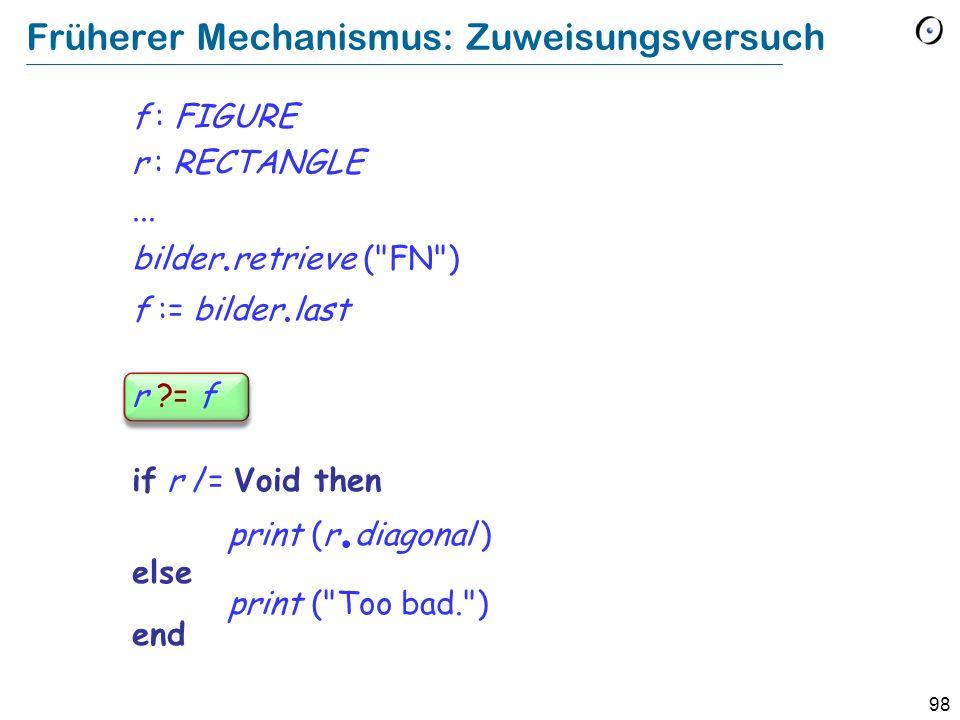 97 Object-Test Local Einen Typ erzwingen: Der Objekt-Test if attached {RECTANGLE} bilder.