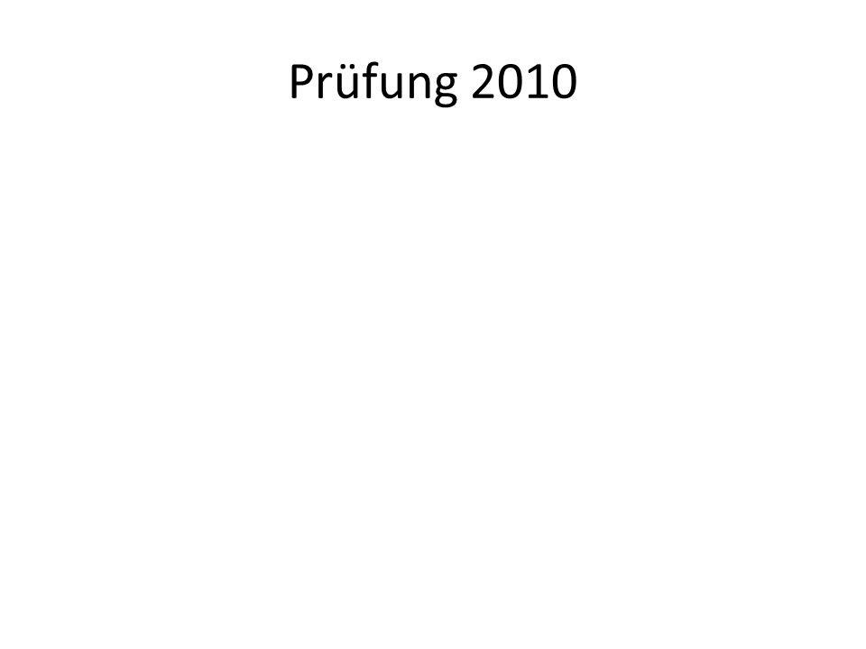 Prüfung 2010