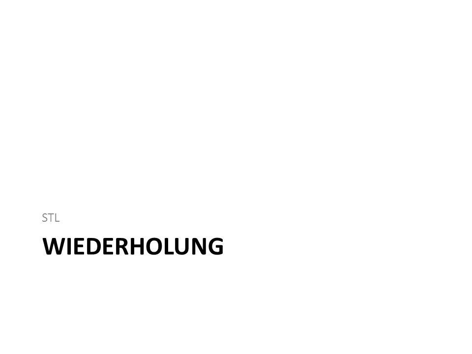 WIEDERHOLUNG STL