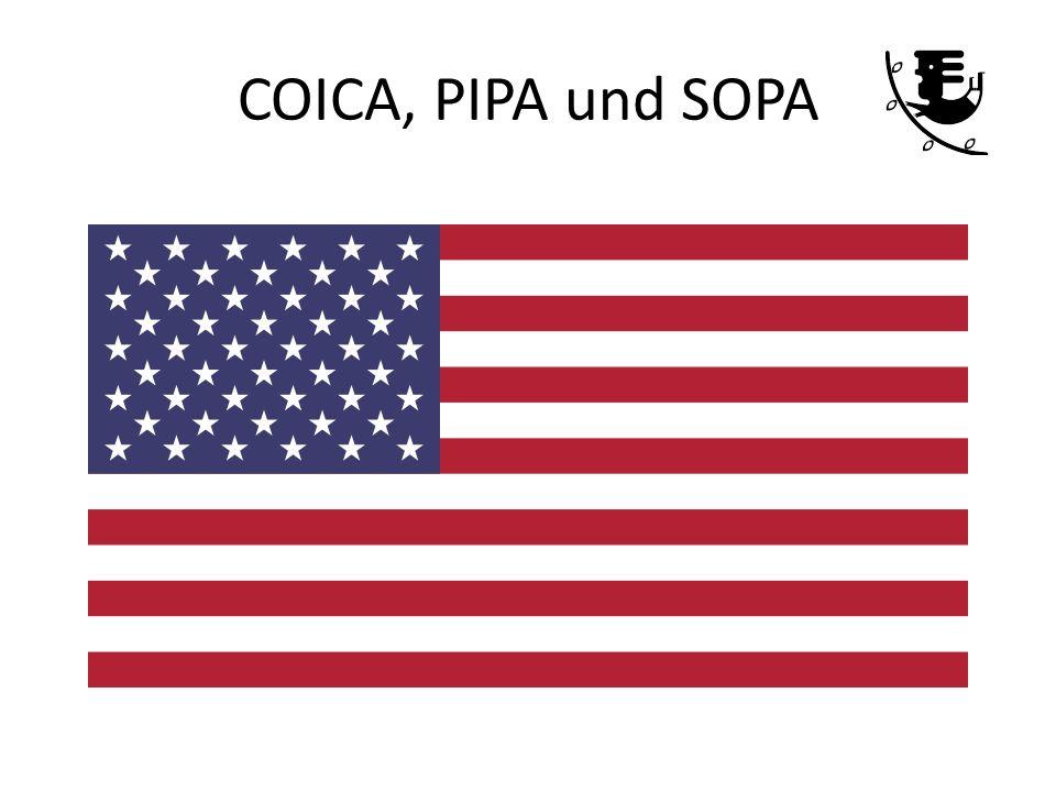 COICA, PIPA und SOPA
