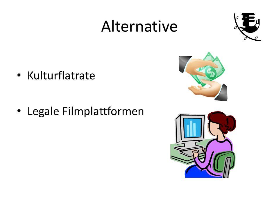 Alternative Kulturflatrate Legale Filmplattformen