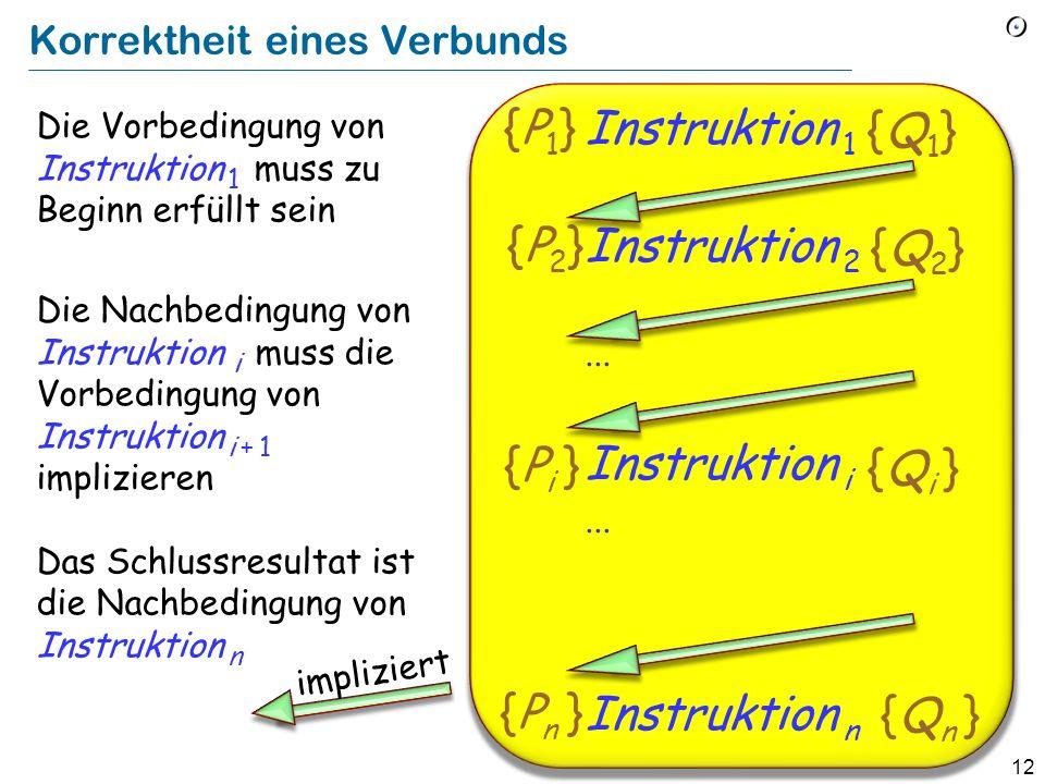11 Eiffel: Das Semikolon als optionale Trennung Instruktion 1 ; Instruktion 2 ;... ; Instruktion n