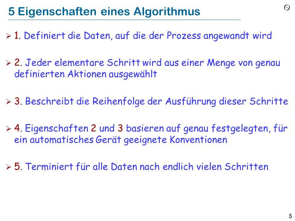 4 Nicht wirklich ein Algorithmus