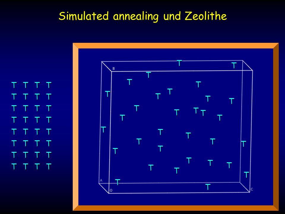 Simulated annealing und Zeolithe TT T T T T T TTT T T T T T TTT T T T T T TTT T T T T T T T T T T T T T TTT T T T T T T T T T T T T T T T T T T T T T