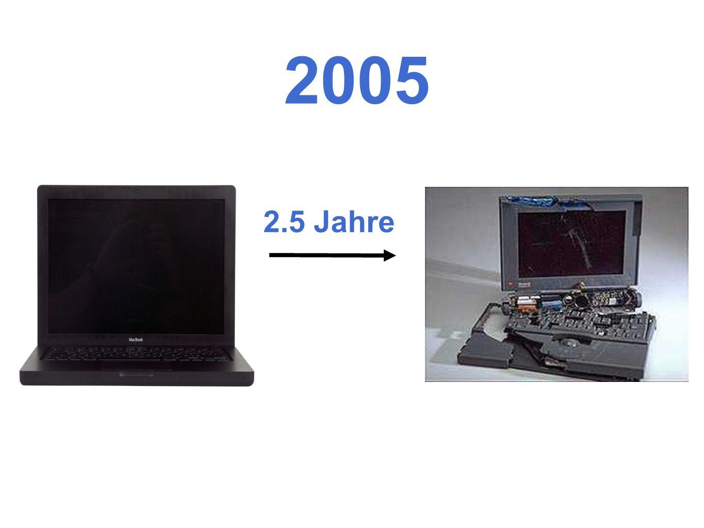 2.5 Jahre 2005