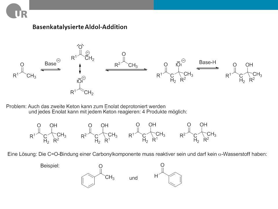Basenkatalysierte Aldol-Addition