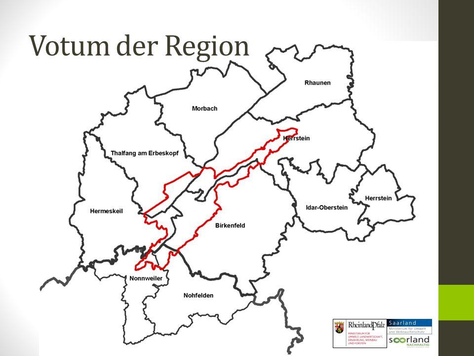 Votum der Region