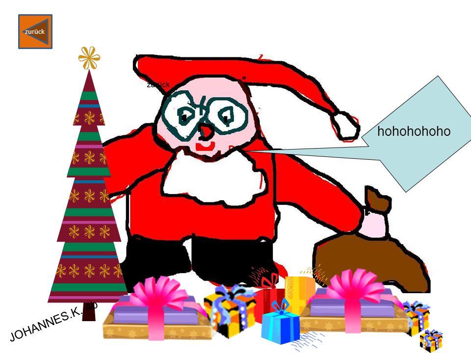 Weihnachtsgedicht von Tim H. Weihnachten 24. Dezember Ein großer Weihnachtsbaum Ich freue mich sehr Heiligabend zurück