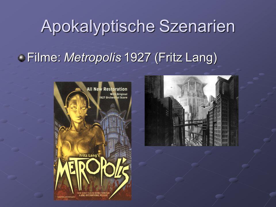 Apokalyptische Szenarien Filme: Metropolis 1927 (Fritz Lang)