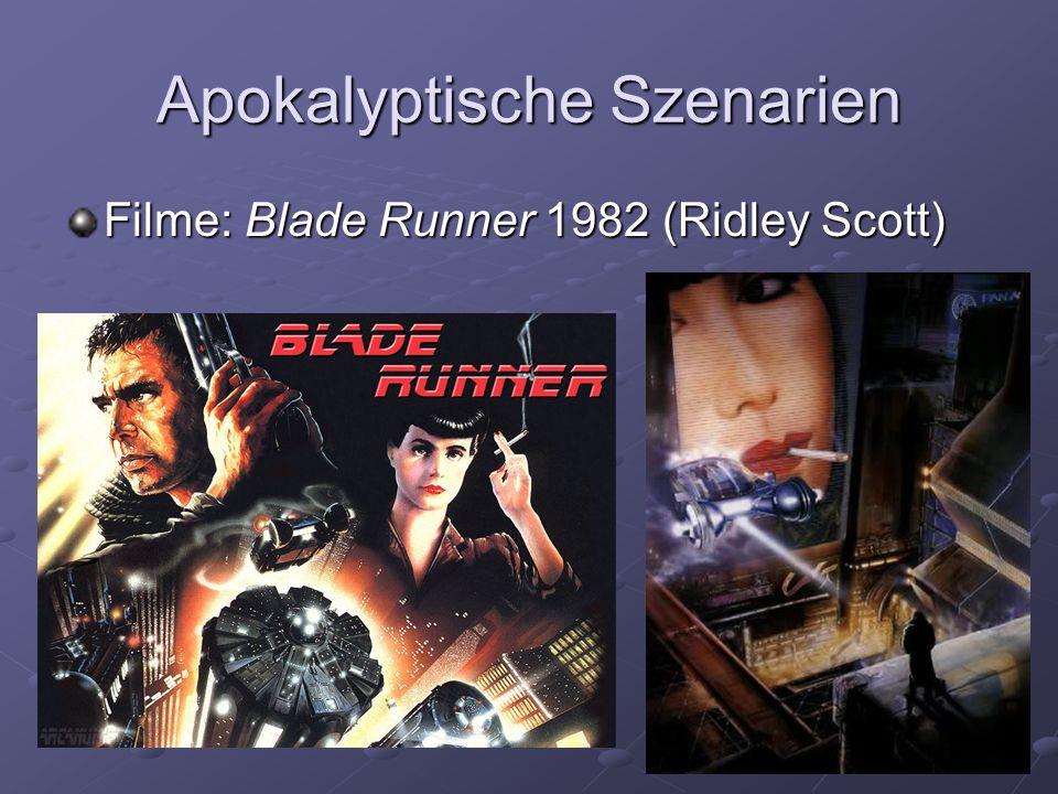 Apokalyptische Szenarien Filme: Blade Runner 1982 (Ridley Scott)