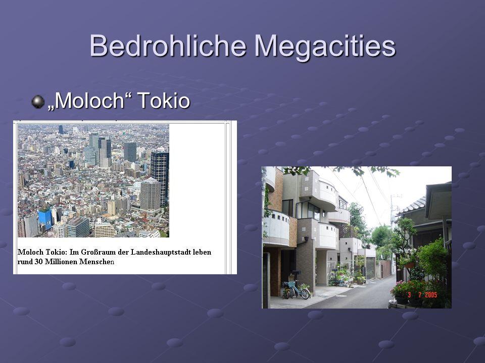 Bedrohliche Megacities Moloch Tokio