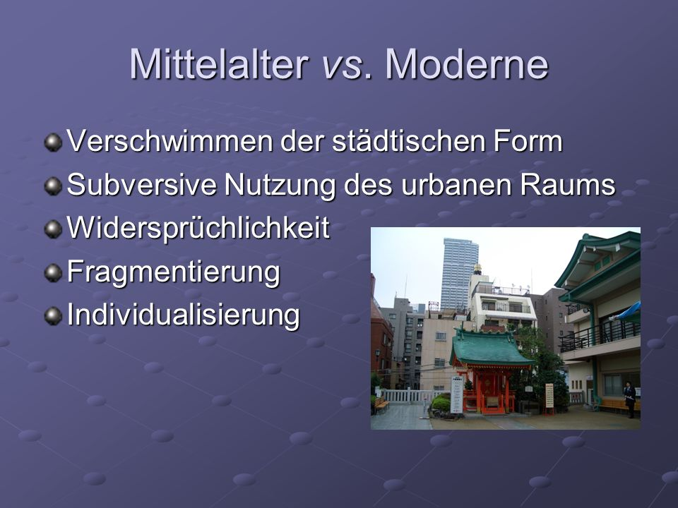 Mittelalter vs.