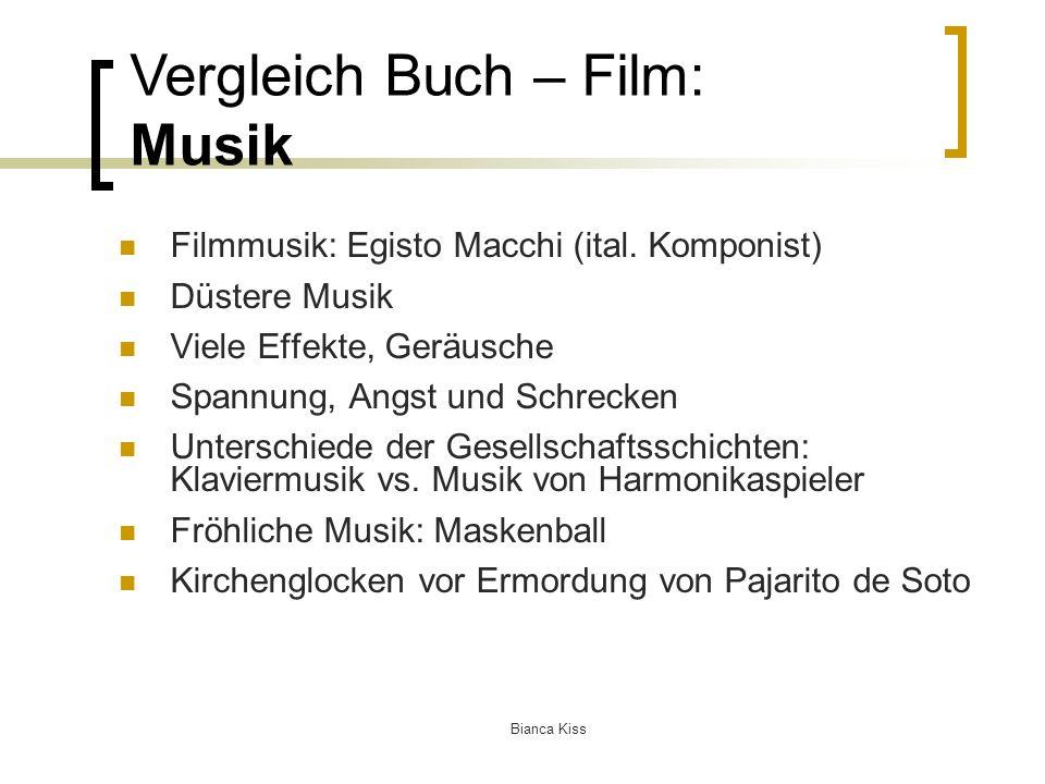 Bianca Kiss Filmmusik: Egisto Macchi (ital.