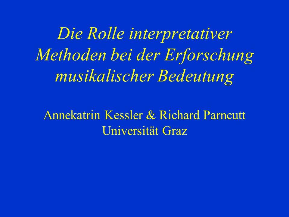2. Klarinettentrio Fragebogen/Inhaltsanalyse: intersubjektive Ebene Bewegung/hin- und hergerissen