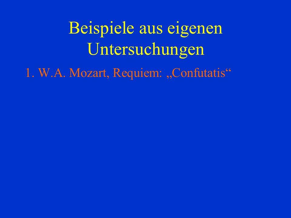 1. W.A. Mozart, Requiem: Confutatis