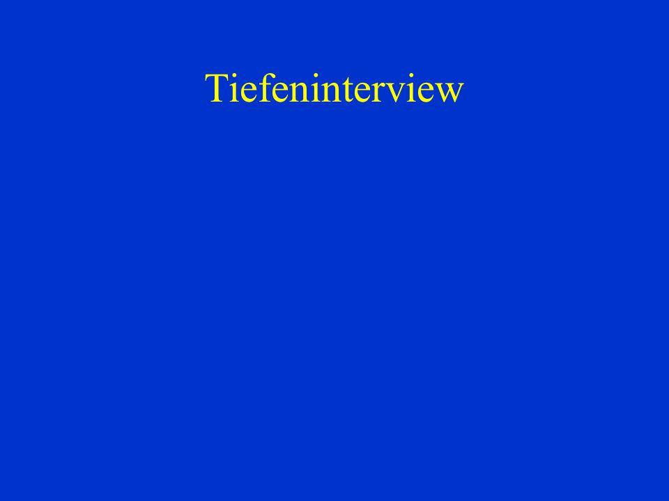 Tiefeninterview