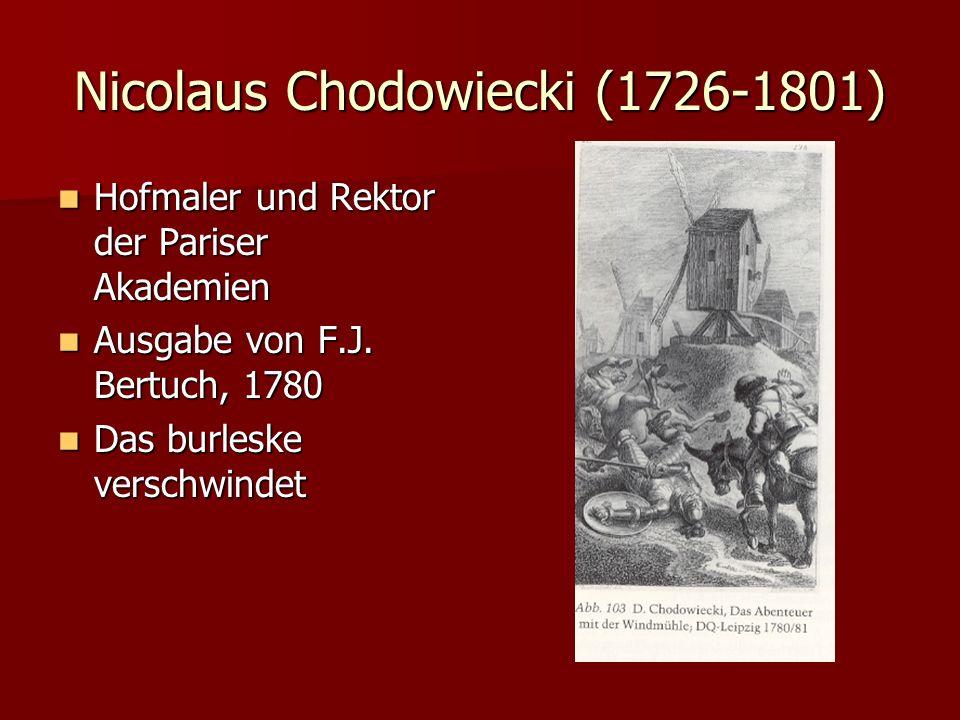 Nicolaus Chodowiecki (1726-1801) Hofmaler und Rektor der Pariser Akademien Hofmaler und Rektor der Pariser Akademien Ausgabe von F.J. Bertuch, 1780 Au