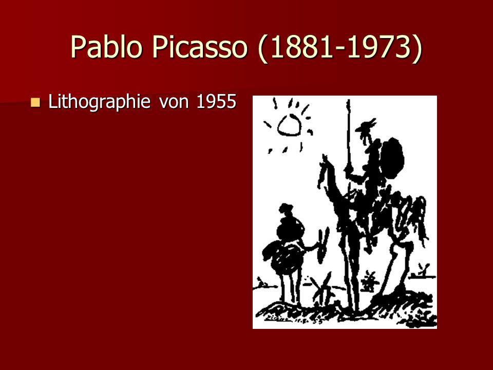 Pablo Picasso (1881-1973) Lithographie von 1955 Lithographie von 1955
