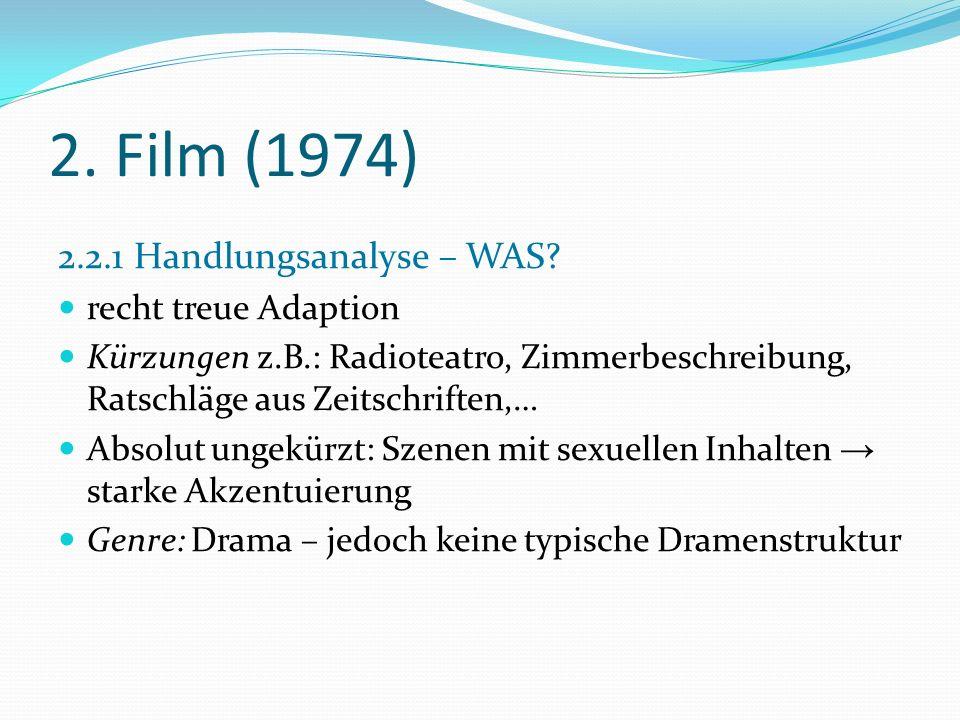 2.Film (1974) 2.2.2 Figurenanalyse - WER. Nélida Fernández de Massa (Martha Y.
