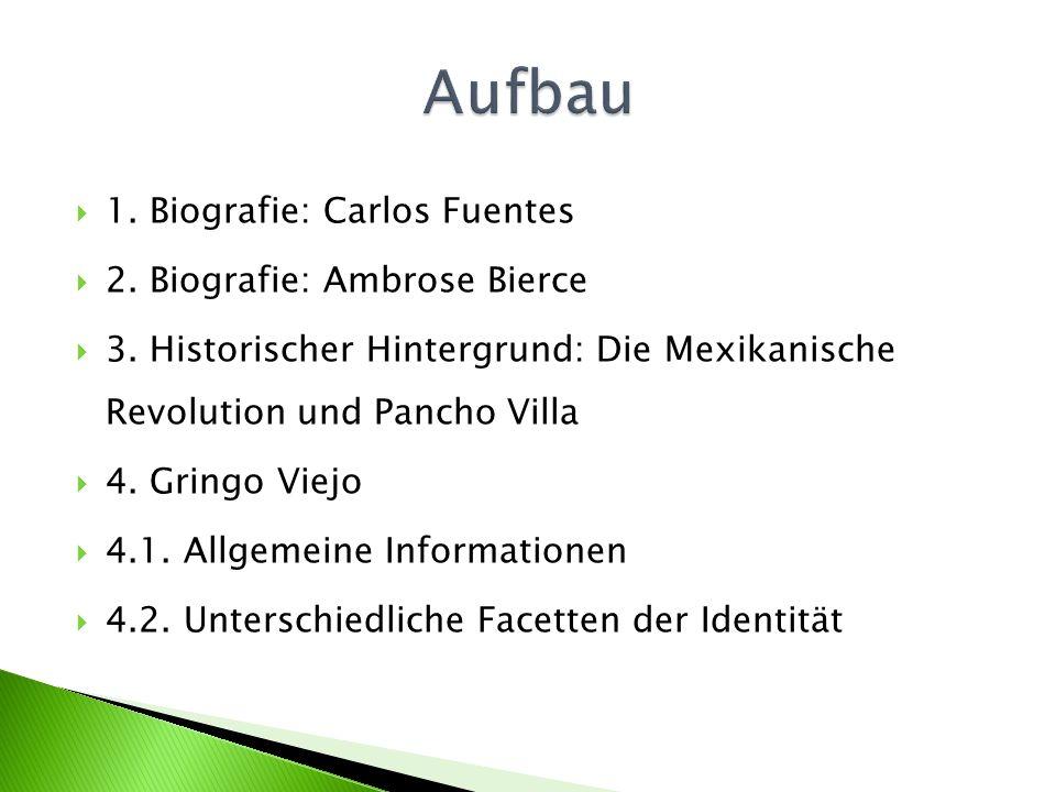 1. Biografie: Carlos Fuentes 2. Biografie: Ambrose Bierce 3.