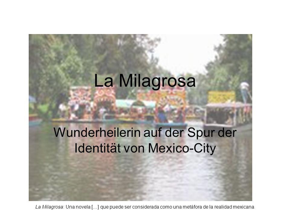 La Milagrosa: Una novela […] que puede ser considerada como una metáfora de la realidad mexicana La Milagrosa Wunderheilerin auf der Spur der Identität von Mexico-City