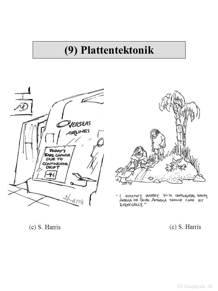 (9) Plattentektonik EF Geophysik 68 (c) S. Harris