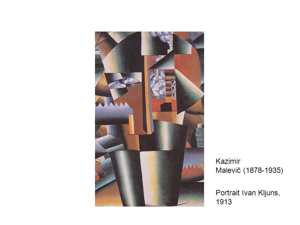 Portrait Ivan Kljuns, 1913 Kazimir Malevič (1878-1935)