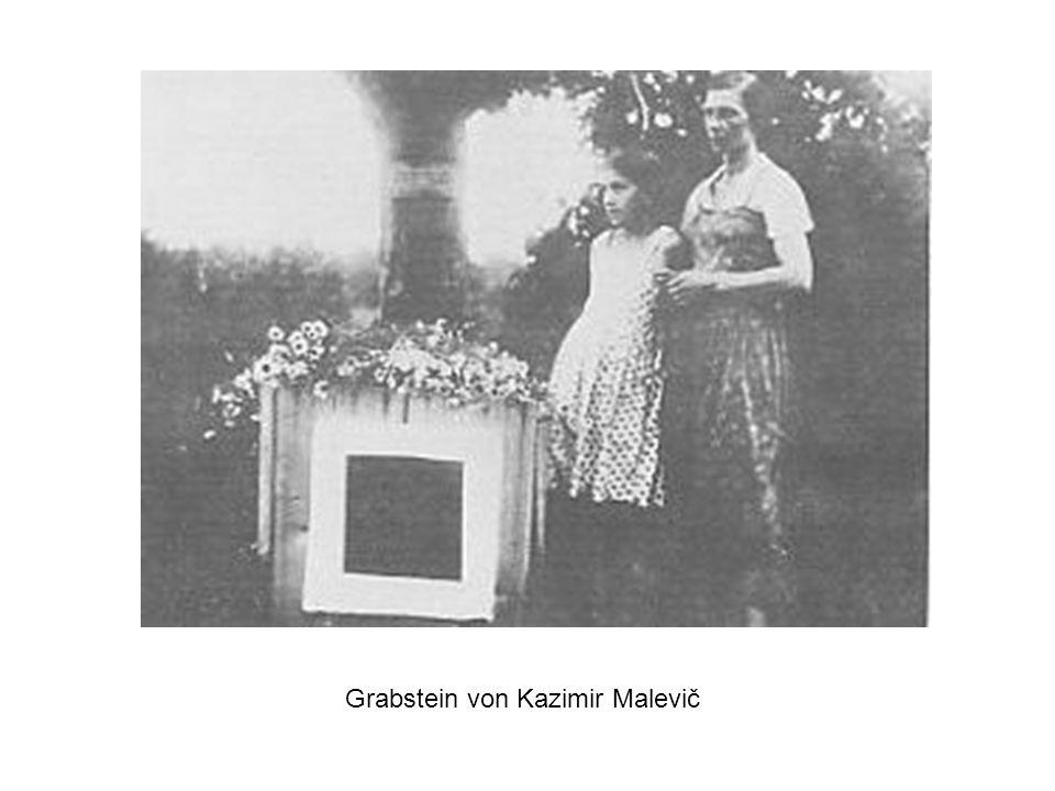 Grabstein von Kazimir Malevič
