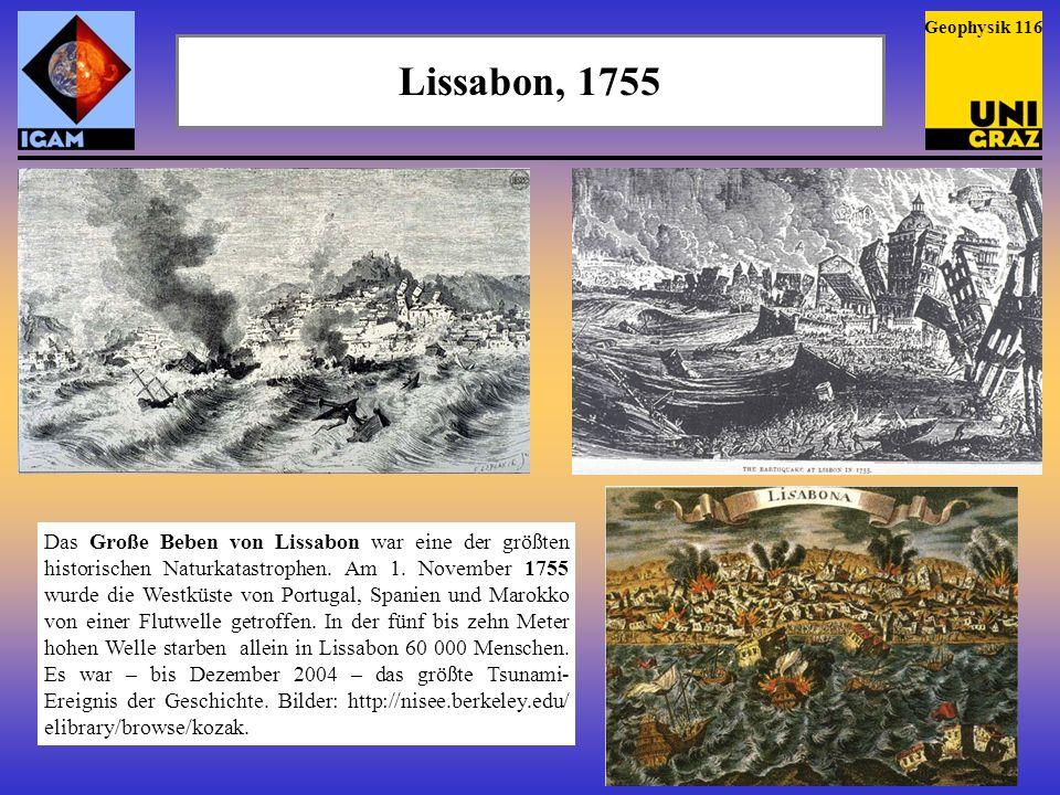 Krakatau, 1883 Nach 200 Jahren Ruhe brach der Krakatau mehrmals aus (links, G.