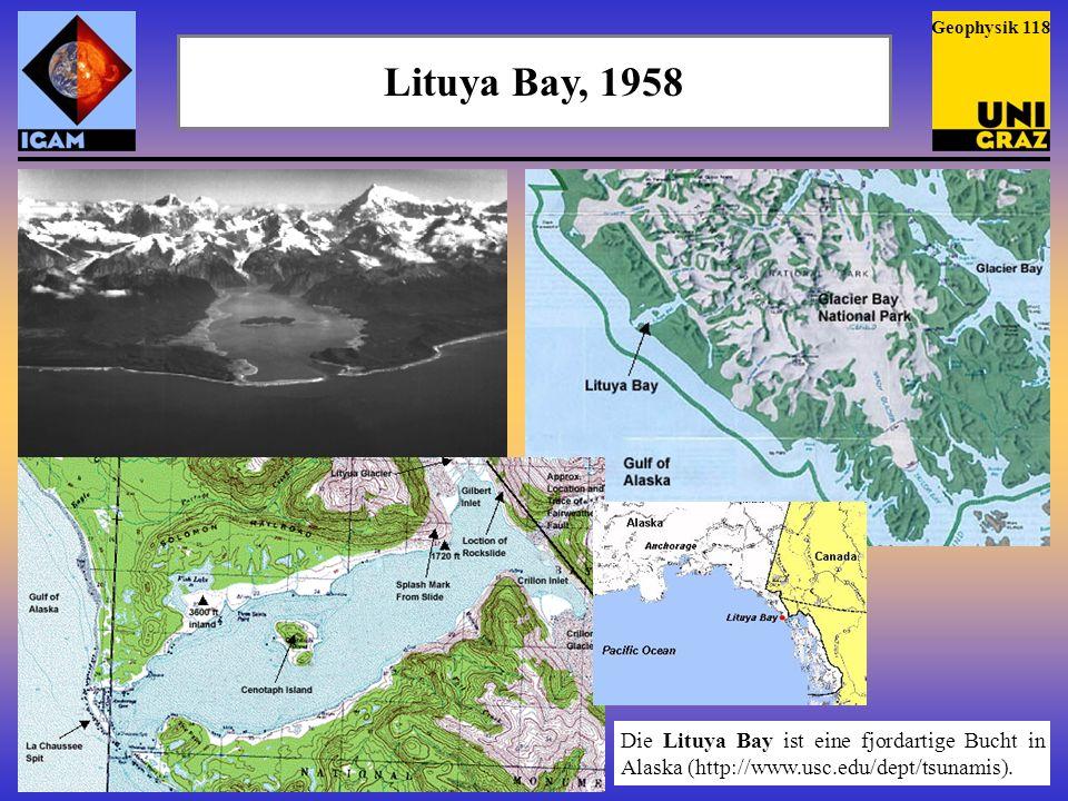Lituya Bay, 1958 Am 9.7.
