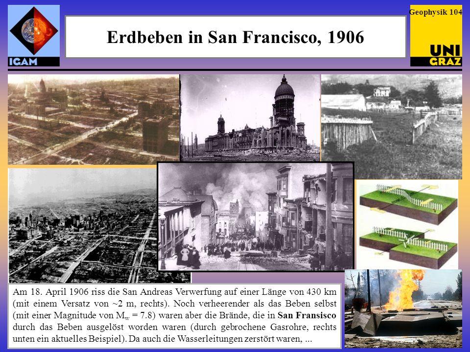 Erdbeben in Valdivia, Chile, 1960 Zum 50.