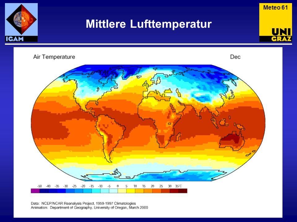 Mittlere Lufttemperatur Meteo 61