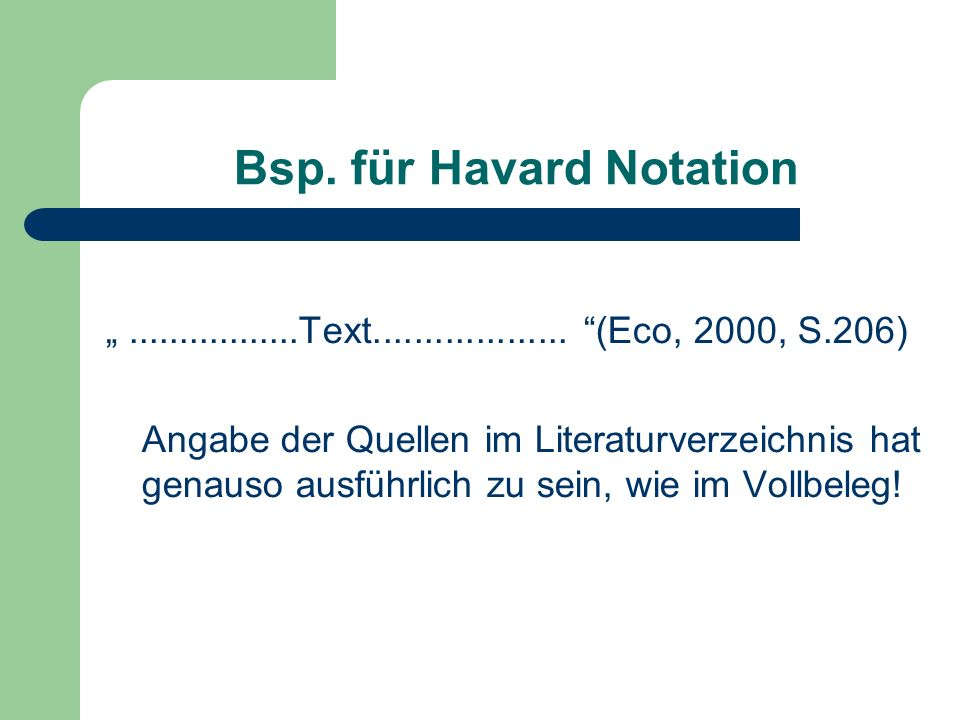 Bsp.für Havard Notation.................Text...................