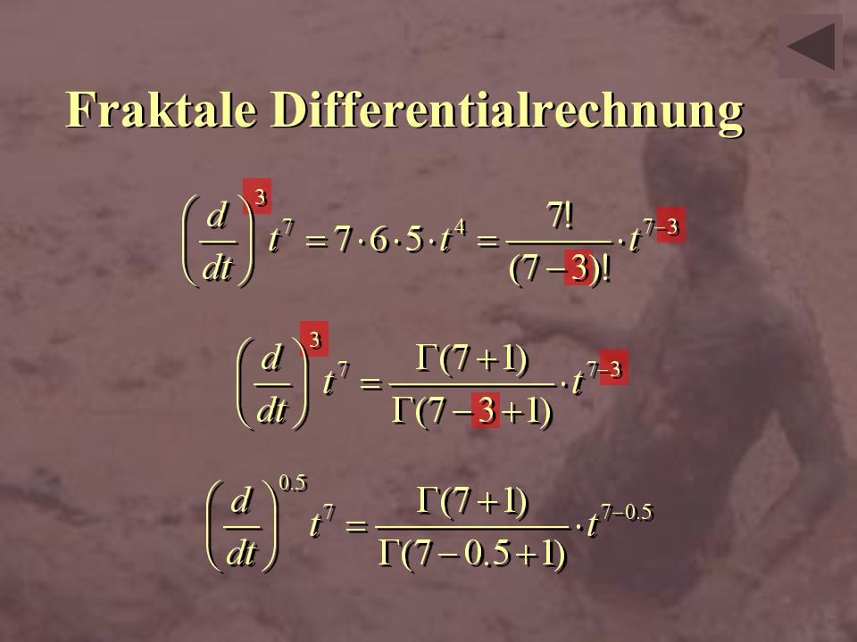 Fraktale Differentialrechnung