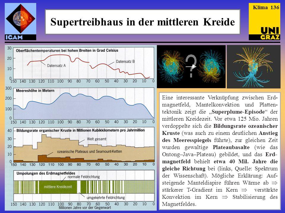 Supertreibhaus in der mittleren Kreide Schwarzschiefer der mittleren Kreidezeit (Quelle: Thomas Wagner).
