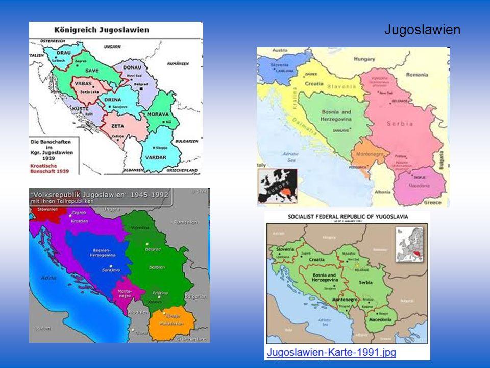 55 Im serbischen Bereich drei verschiedene Sprachformen Eindeutig normiert bzw.