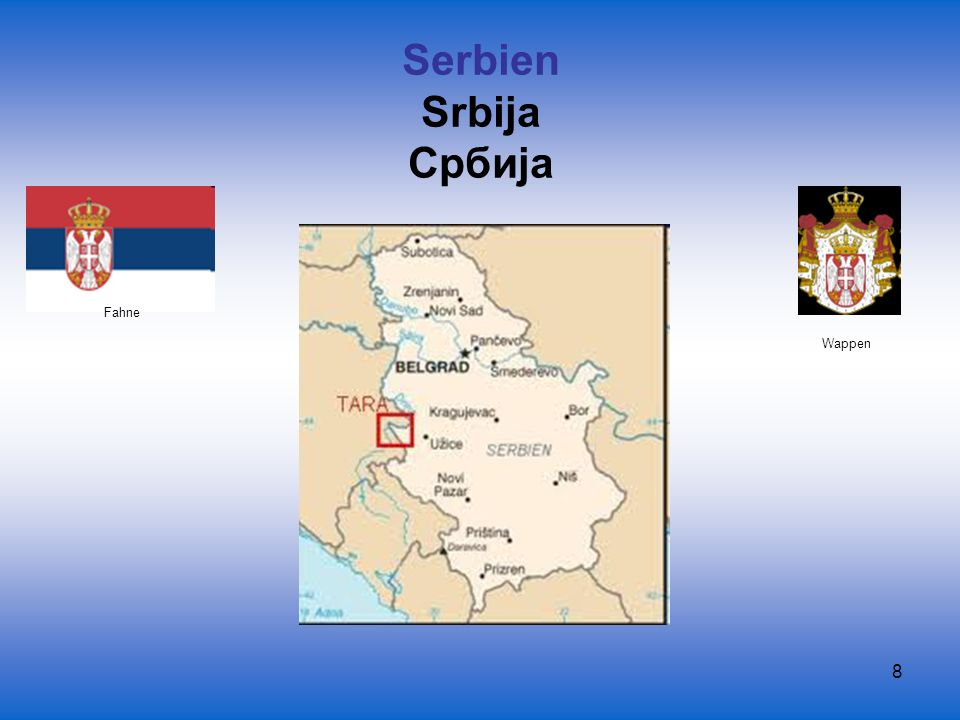 39 Die Föderation Bosnien und Herzegowina Die Republika Srpska (Serbische Republik) Fahne