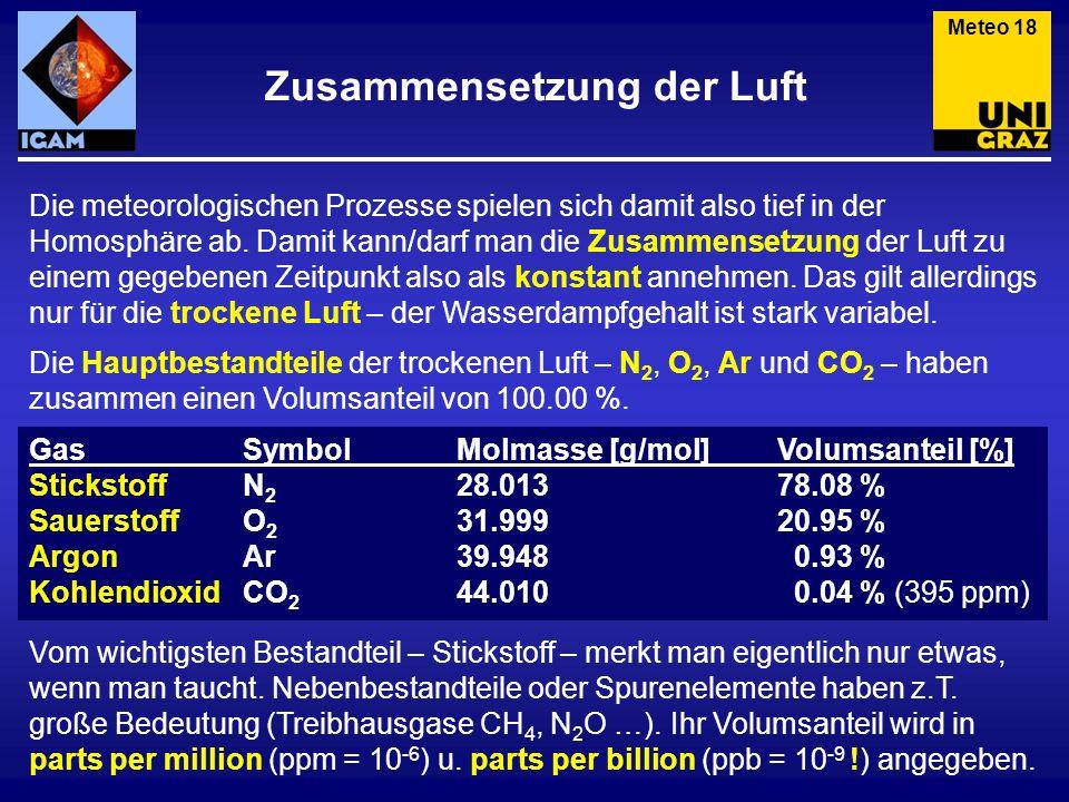 Benützt man das Gasgesetz für genau ein Mol (also n = 1), so ergibt sich das Molvolumen.