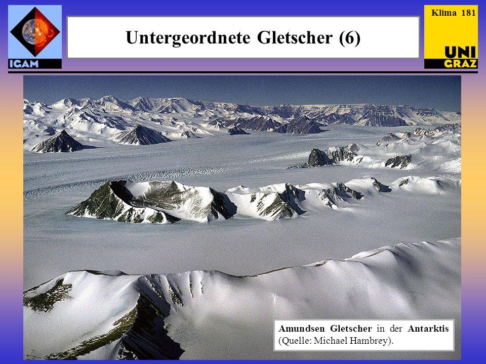 Klima 181 Untergeordnete Gletscher (6) Amundsen Gletscher in der Antarktis (Quelle: Michael Hambrey).