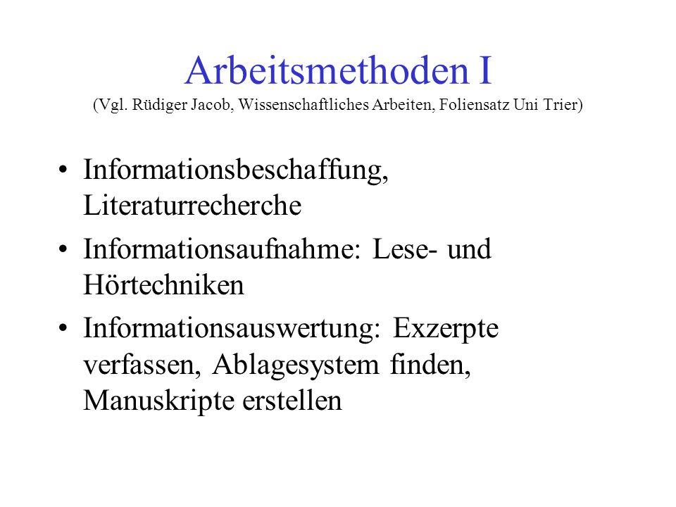 Zitierregeln (nach Eco 1993, S.